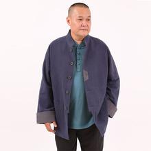 高三强新款唐装 男式唐装外套立领中式长袖男上衣休闲中国服15901