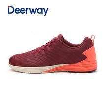 查看德尔惠男鞋官方正品炫跑鞋轻便耐磨运动鞋低帮潮流透气防滑跑步鞋