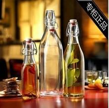 查看250-1000ml装宜家酒瓶 密封瓶 饮料玻璃瓶 油瓶发酵瓶酵素瓶