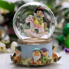公主生日礼物水晶球音乐盒八音盒创意女友天空之城送女生小孩新奇