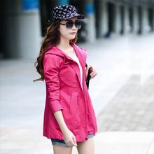 查看2015秋装女上衣 短款风衣外套女 春秋季韩版学生长袖短外套少女潮