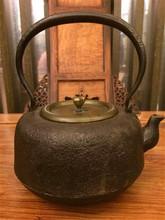 查看日本老铁壶龙文堂铁壶岩肌手工壶铸铁壶茶道零配茶壶功夫茶具配件