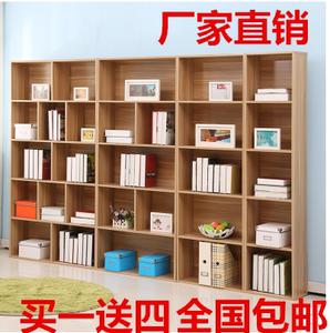 书柜书架置物架酒柜自由组合儿童书柜书橱收纳柜阅览室可带门包邮价