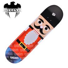 高级双翘滑板 成人组装专业滑板 四轮枫木极限滑板 威武系列