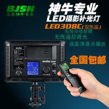 神牛 LED308C 变色版 LED摄像灯led摄影灯婚庆DV摄像机补光灯采访