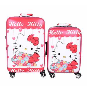 tty猫儿童小拉杆箱万向轮18 20寸旅行箱子母宝宝行李箱女