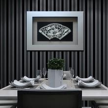 影子画 餐厅画高档装饰画家庭中式客厅装饰画卧室吉祥立体挂画