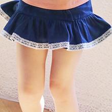 查看3折★韩国正品现货★女童装2015夏款FLO公主俏皮荷叶边裙摆裙裤