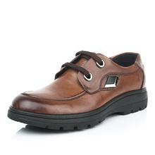 鳄鱼恤高档品牌男鞋商务休闲男士皮鞋 头层牛皮正品男鞋子弹力底