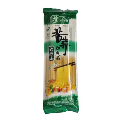 【天猫超市】西部村寨苦荞劲爽面200g四川大凉山特产荞麦面条挂面