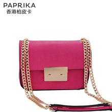 香港paprika2017新款斜跨包链条包女小包 女包小号单肩斜挎包