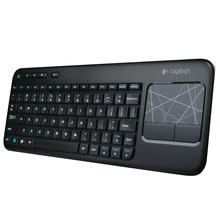 罗技K400R K400升级版无线触控键盘 3.5寸触控板支持安卓智能电视