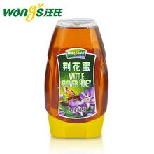 汪氏蜂蜜旗舰店荆花蜜465g 天然野生土蜂蜜优质东北百花蜜