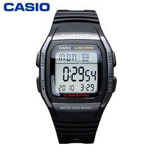 正品CASIO/卡西欧手表   男士防水运动休闲品质学生电子表W-96H