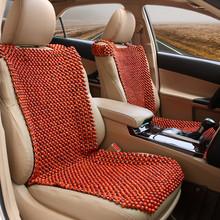 查看汽车木珠坐垫非洲花梨木木珠汽车座垫夏季透气香木珠子靠背凉垫