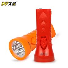 久量led充电家用手电筒 户外照明强光手电应急便携手电简 小手电