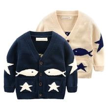 查看男童卡通毛衣 秋装2015新款童装小童开衫宝宝上衣 儿童韩版针织衫