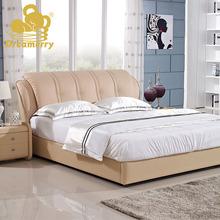 君梦美品牌软床 皮床 双人床真皮床 软体床 软床 1.8米婚床 1306