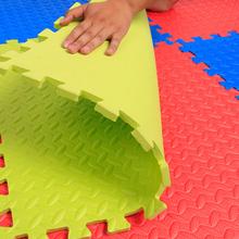 爱儿宝乐地垫儿童拼图宝宝爬行垫子卧室地板泡沫地垫60 60加厚