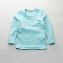 男童长袖T恤2017秋上新纯棉儿童打底衫男童百搭T恤加厚儿童打底衣