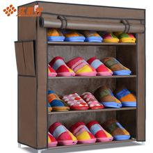 查看红果村简易鞋柜 无纺布单排加厚加固防尘布鞋柜 居家鞋架特价包邮