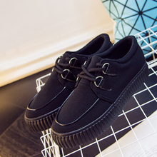 梦赛板鞋女2017秋季帆布鞋一脚蹬女鞋低帮平底休闲鞋潮学生女布鞋