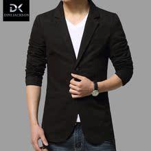 春秋装男士西装单件上装男休闲外套薄款青少年外套韩版修身西装