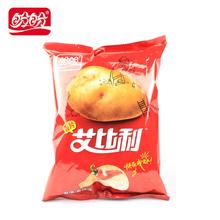 盼盼新品艾比利薯片膨化食品休闲小零食 番茄/香辣味 60g/袋装