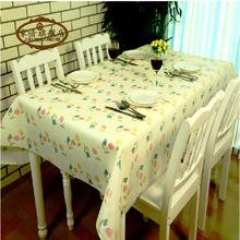 植物花卉桌布防水免洗塑料餐桌布PVC台布防油桌垫软质玻璃茶几垫