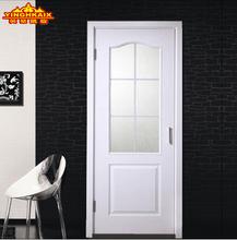 英豪凯旋木门 室内门 卫生间门 玻璃门 实木复合门白色混油木门