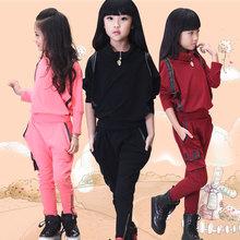 查看韩版童装女童春装12小孩子衣服5女孩10小学生运动套装7-8-6十岁秋