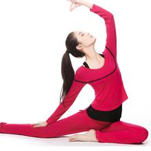 2017秋冬新款正品梵歌纳瑜伽服套装女士瑜珈服三件套愈加健身服