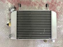 查看春风水冷CF150夜猫摩托车配件水箱风扇 散热器 全铝散热装置 原厂