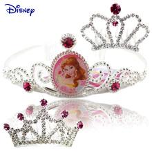 正品迪士尼公主皇冠发饰 儿童饰品头箍发箍可爱女童发卡发插发梳