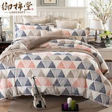 御棉堂家纺法兰绒四件套冬季加厚保暖法莱绒被套床单床上用品特价