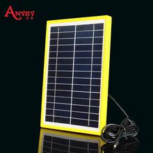 进口多晶硅太阳能板 15v光伏发电板电池板 12v电瓶充电 无限充电