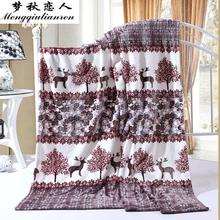 查看【天天特价】法兰绒毛毯加厚超柔珊瑚绒秋冬季法莱绒毯子床单双人