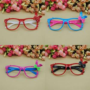 新款潮儿童眼镜框无镜片 兔子耳朵卡通眼镜架女童可爱宝宝眼睛框