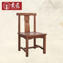 红木家具 鸡翅木小方凳 中式实木儿童椅/小板凳/矮凳小靠背椅子