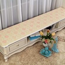 查看欧式印花茶几布床头柜盖布电视柜布防尘罩茶几垫桌布PVC塑料台布