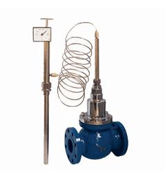 Tipo de calefacción de la válvula de control de temperatura de Shanghai (válvula de válvula de regulación de los expertos en la válvula de Shanghai