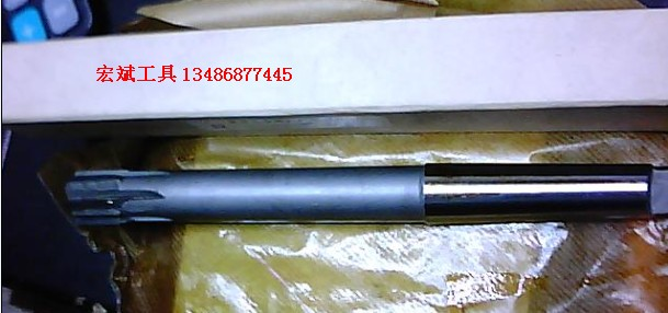 Alloy taper reamer with inserted taper shank 32H8YT/YG
