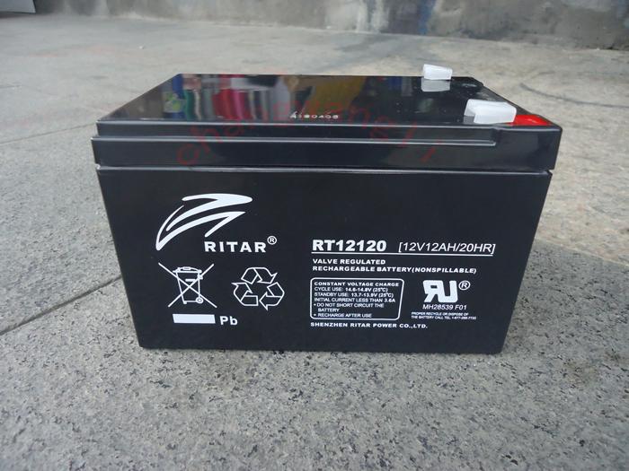 瑞达ブランド電池本体12V12AH通報の警備のセキュリティ鉛の酸っぱい蓄圧UPS電源特価