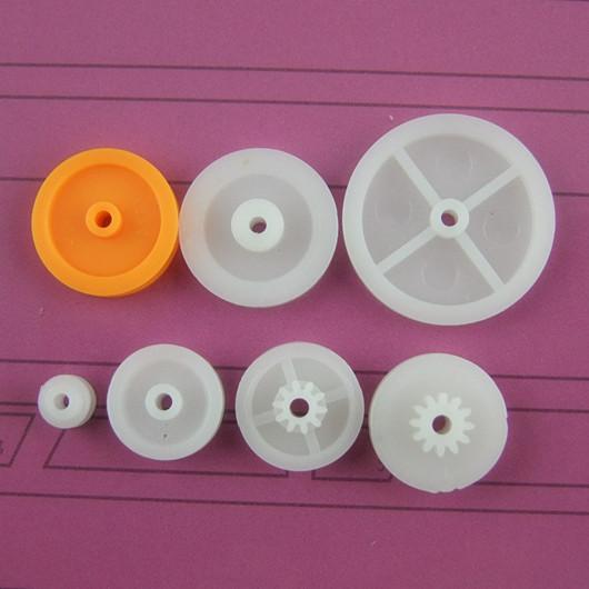 δυόμισι γουάν κάκα ειδική τροχαλία επιλογή εργαλείων πακέτο DIY 7 μοντέλα πλαστικά μέρη μετάδοσης