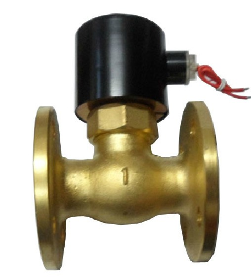 Superior product all copper 2L-25DN25 steam solenoid valve 1 inch 220V24V flange connection normally closed 180 degrees