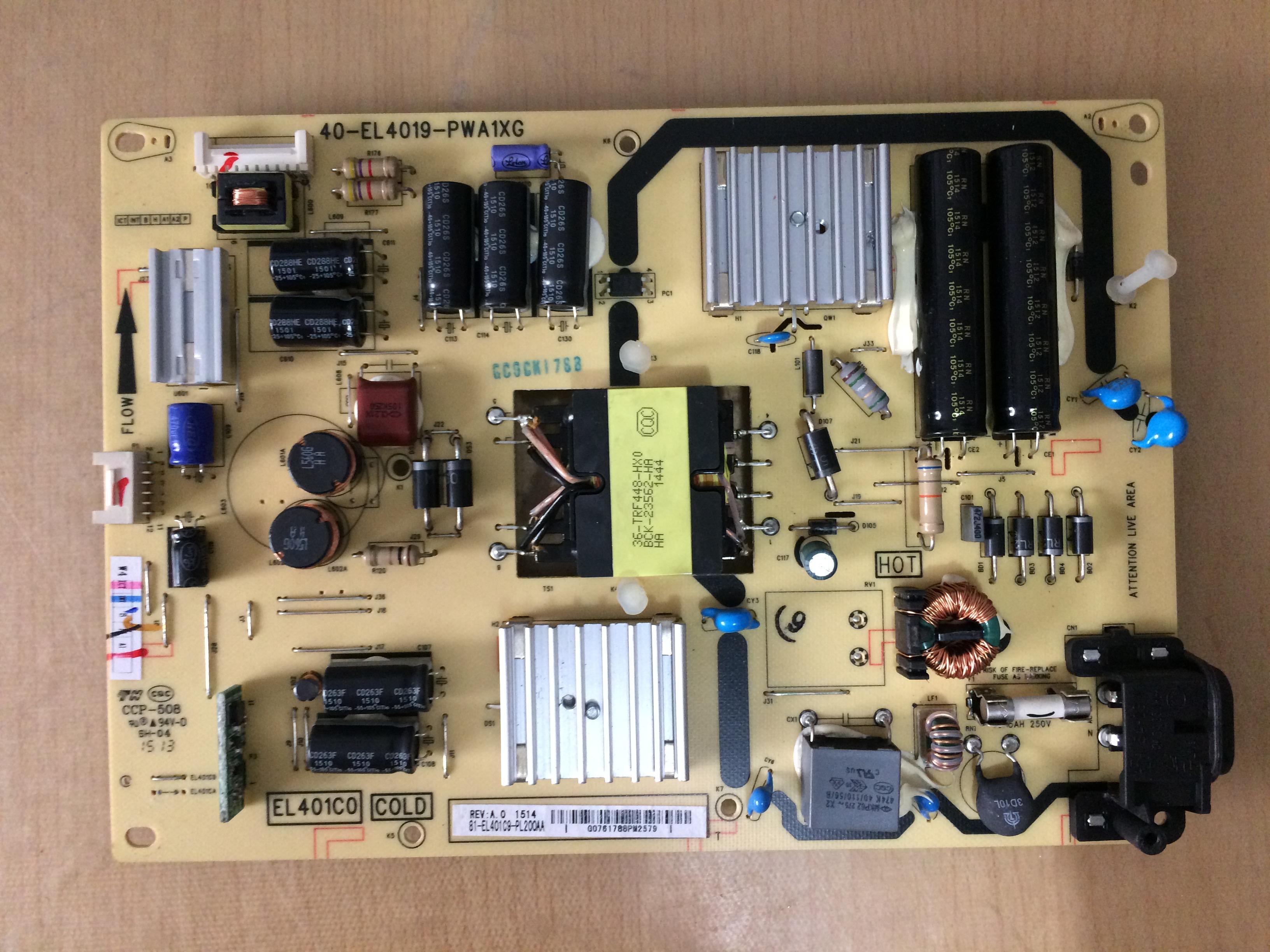 TCL жидкокристаллический телевизор L42A71C полномочия Совета 40-EL4019-PWA1XG