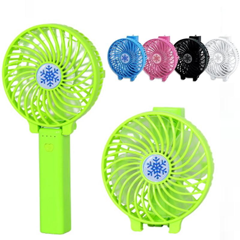 Charging Mini hand hold fan, portable fan, folding creative fan, student fan, air conditioner fan