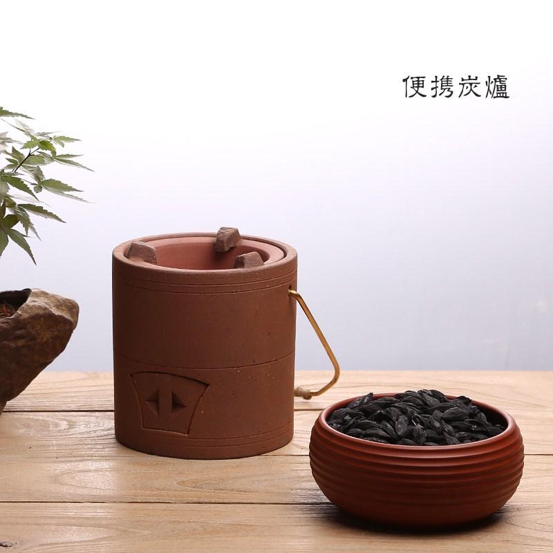 красный шлам фиолетовый углерода печь печь алкоголь грубой глиняной кунг - фу двойного назначения котел древесный уголь оливковое углерода здоровья готовить чай печи небольшой пожар