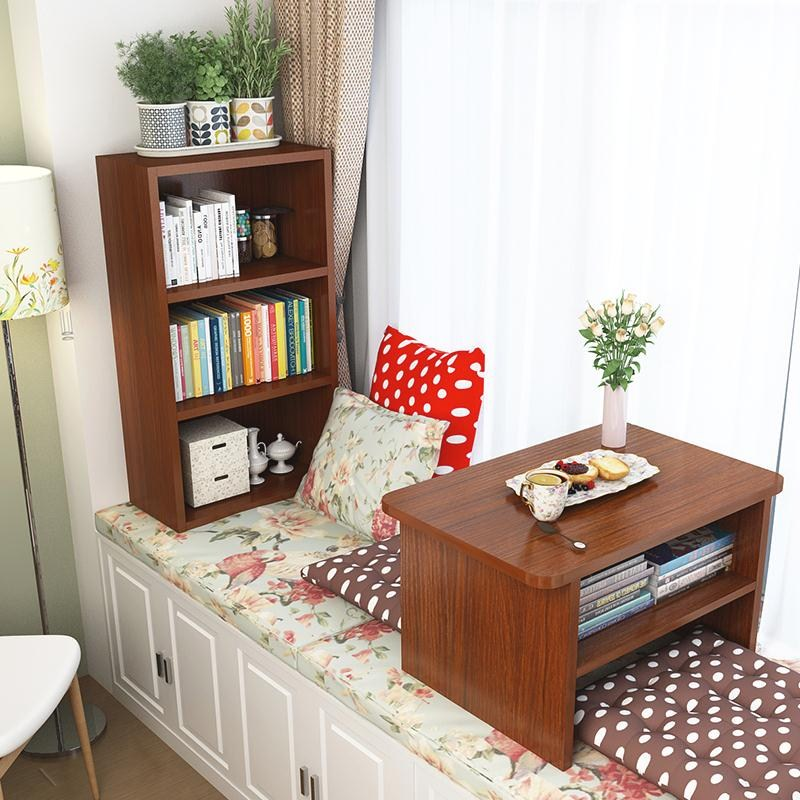 Japanese windows and wood table tatami bed table window table Kang several mini table small tea table short tea table
