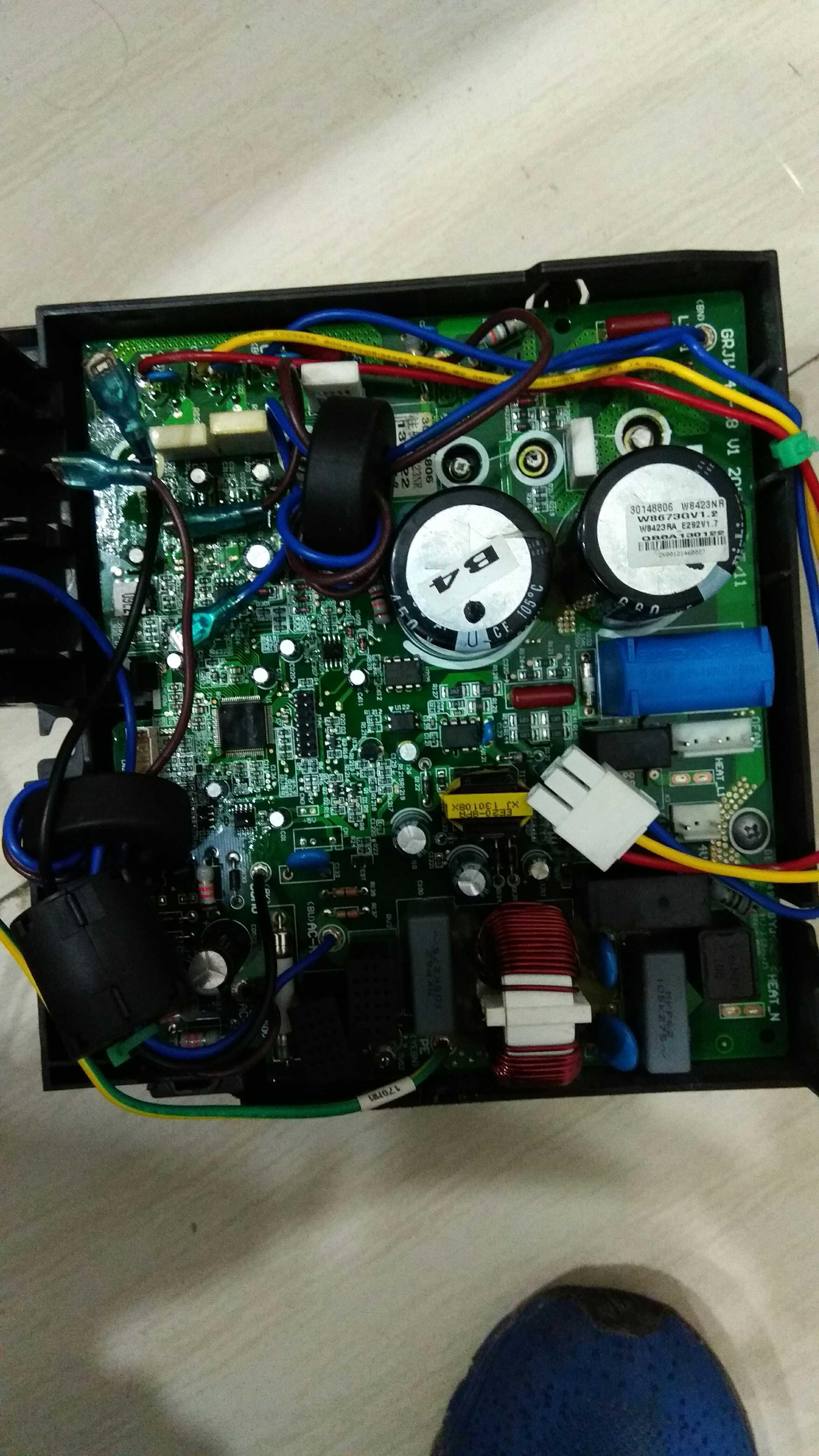 1 . 5匹1匹グリコエアコンの室外機のマザーボードの週波数変換大1 . 5匹の新しい